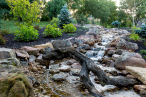water feature maintenance by heritage landscape