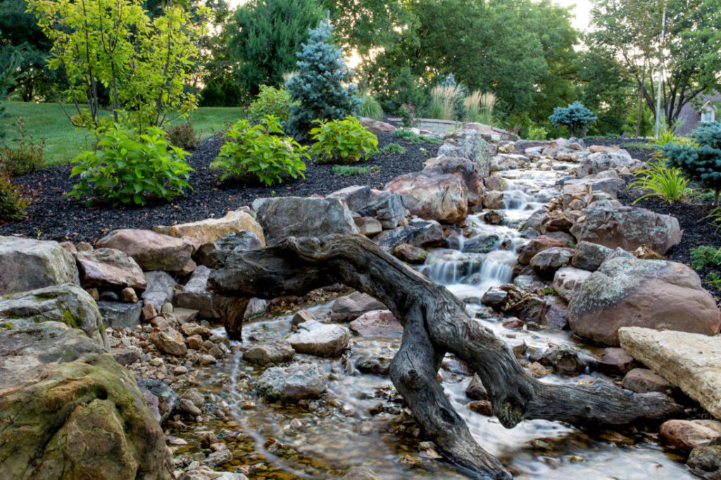 water features design and maintenance for kansas city